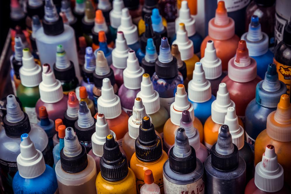 Tintas Regulamentadas pela Anvisa